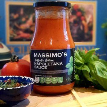 Massimo's nappoletana sauce.