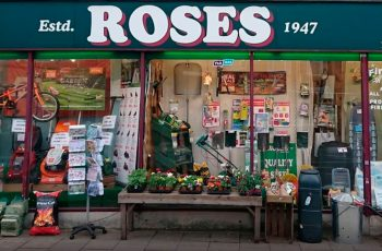 Roses the ironmonger Shopfront