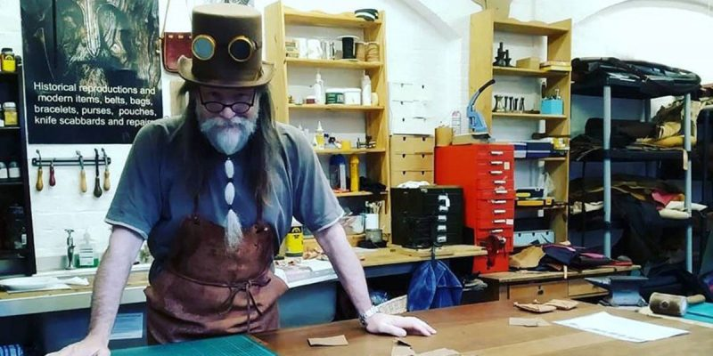 Mark Routledge - Gallybagger leather master craftsman