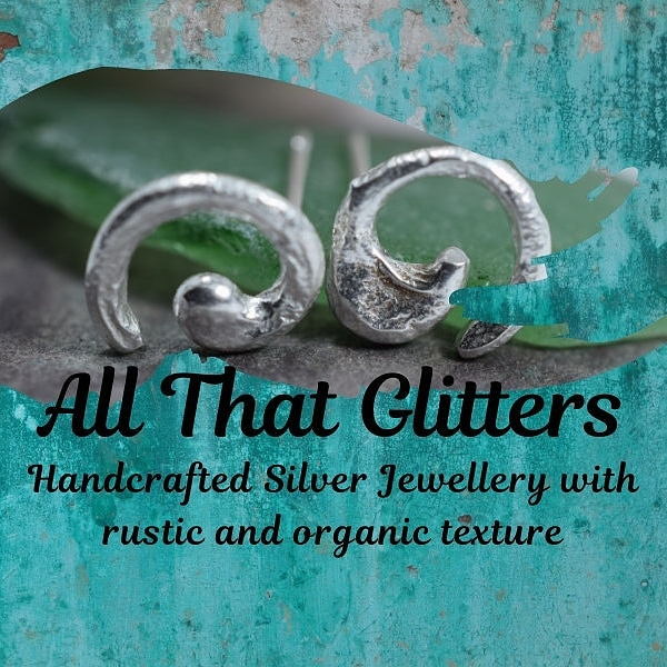 All That Glitters Silver logo