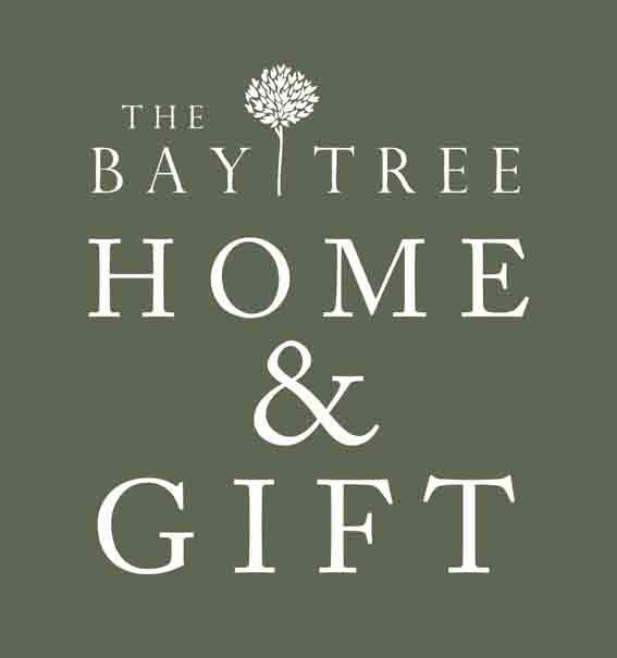 The Bay Tree Gift Shop - logo with tree