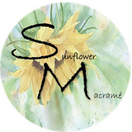 sunflower macrame logo