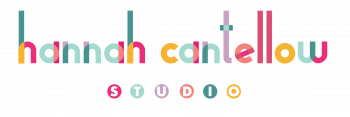Hannah Cantellow Studio - colourful logo